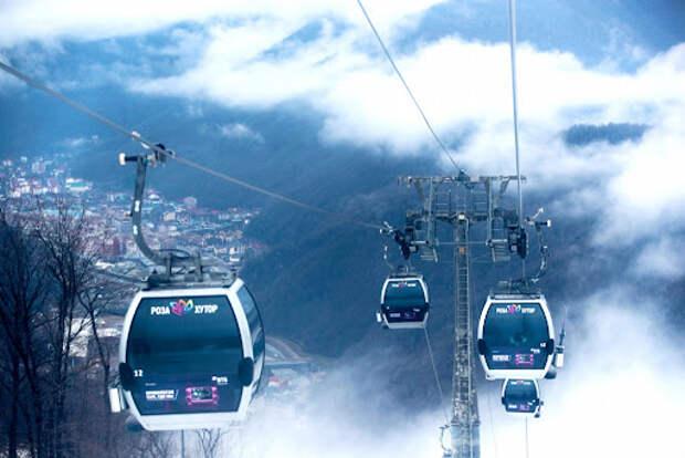 Первый снег в горах Сочи: курорты работают в штатном режиме, канатные дороги — не все
