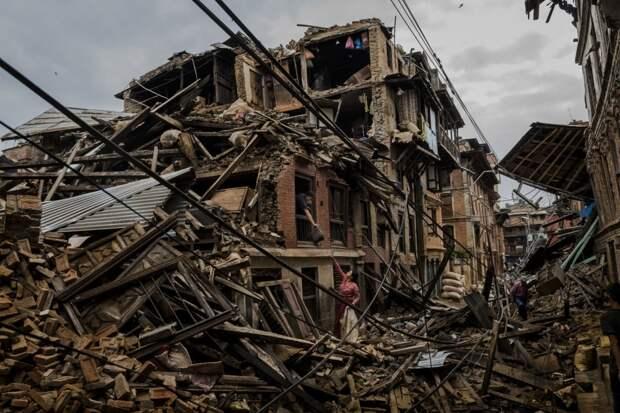 Землетрячение в Непале