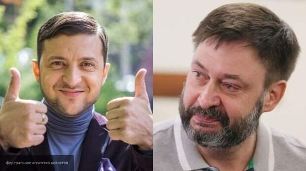 Вышинский заявил, что Зеленский оказался на пороге депрессии