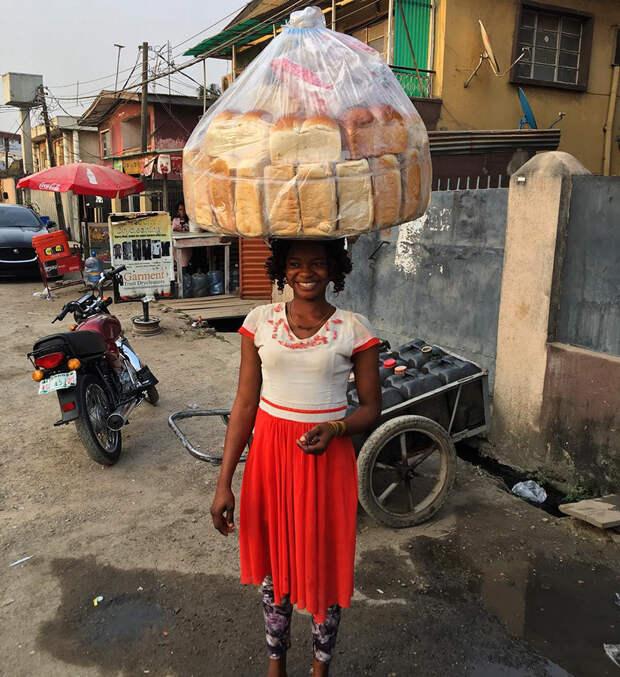 От продавца хлеба до фотомодели