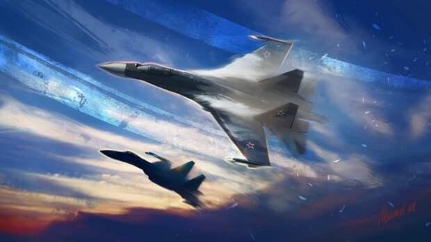 В США решили выяснить, кто круче: F-35 или российский Су-35