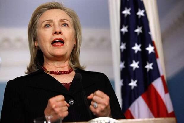 Клинтон вступила в предвыборную гонку с жёсткими антироссийскими заявлениями