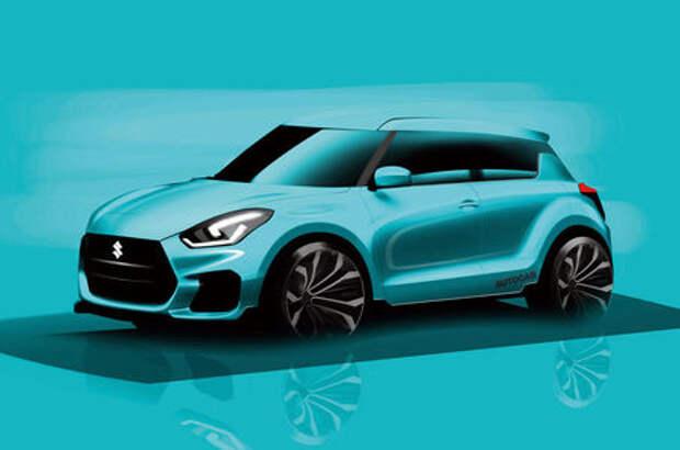 Новый Suzuki Swift Sport получит 1,4-литровый турбомотор от Vitara