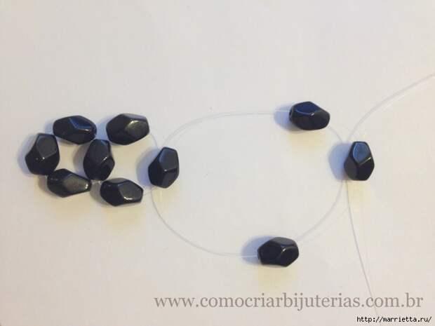 стильное ожерелье из бисера и кристаллов. мастер-класс (7) (700x525, 166Kb)