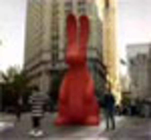 Нашествие пластилиновых кроликов на Нью-Йорк