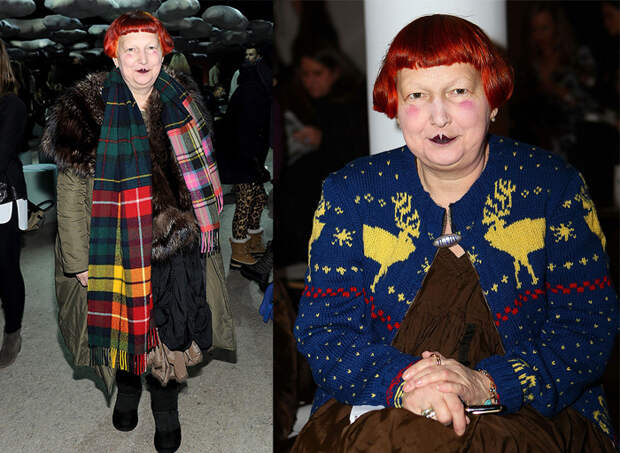 Линн Ягер - самый влиятельный модный критик в мире.