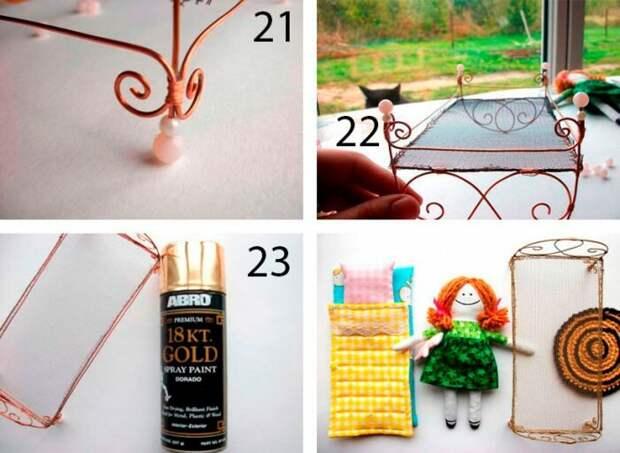 Мебель для кукол своими руками! Порадуйте своих девочек и сэкономьте бюджет!
