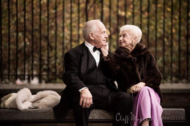 21. Этой стильной паре уже 69 лет вера, любовь, пара