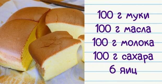 Пышный и вкусный пирог «Все по 100»