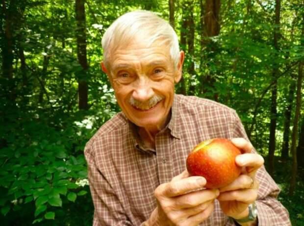Пенсионер восстанавливает самые редкие сорта яблок с помощью своего уникального сада