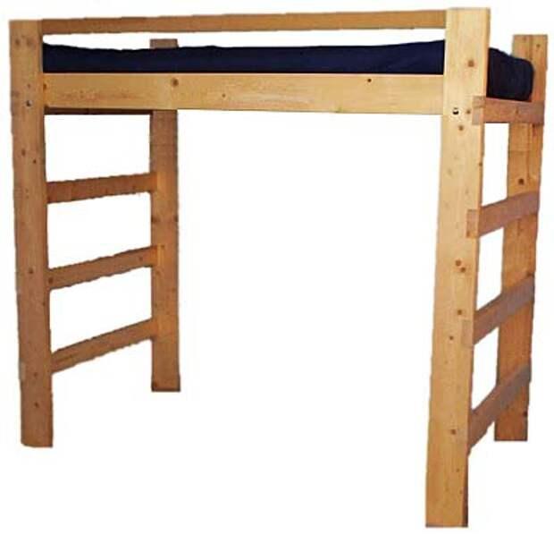 кровать чердак своими руками фото