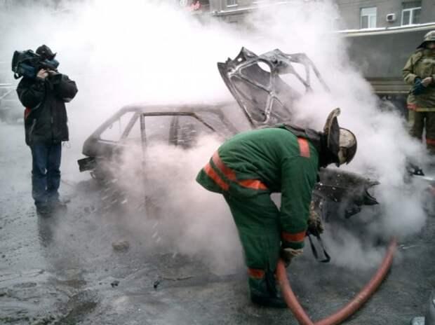 Задержан подозреваемый в поджоге автомобилей в Москве