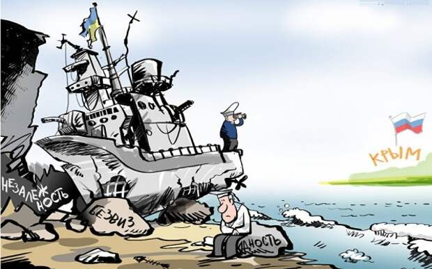 В Сети ответили на «готовность» моряков Украины с боем прорваться через Керченский пролив