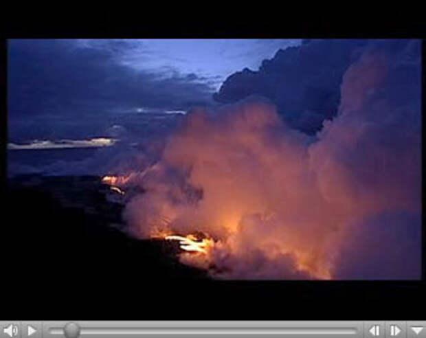 Land Rover: вулканическая реклама