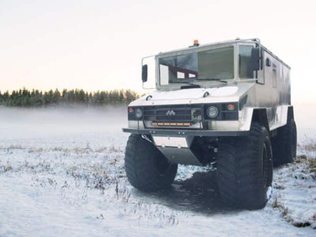 Арктический вездеход «Бурлак»: создана облегченная версия