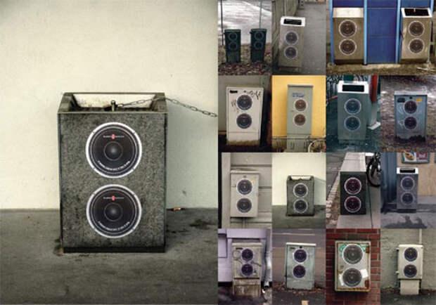Норвежская радиостанция переделала урны в колонки