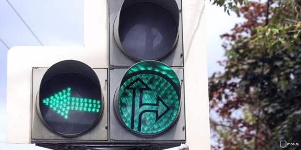 Короткое замыкание нарушило работу светофора на Юровской