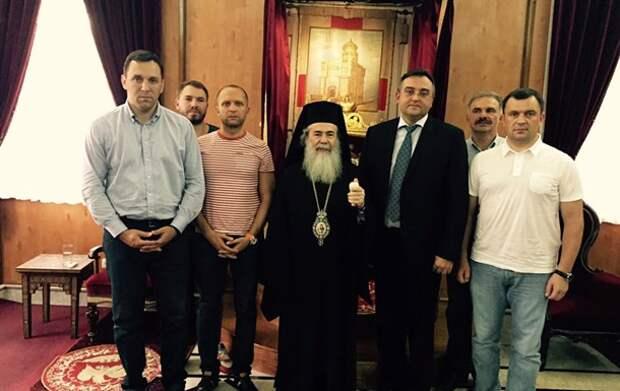 Помиритесь с русскими. Патриарх Иерусалима обескуражил нардепов из Киева