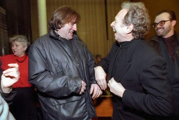 Жерар Депардье и Пьер Ришар