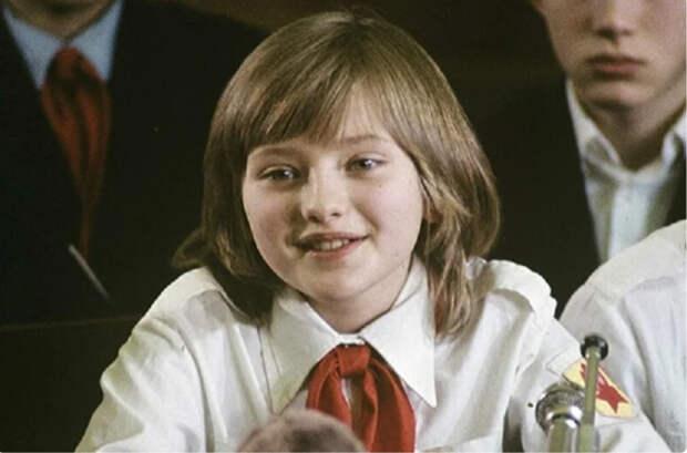 Катя Лычева - самая знаменитая школьница в СССР. Как сложилась ее судьба?