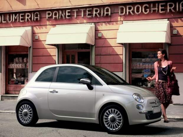 Fiat обновит стильный компакт 500