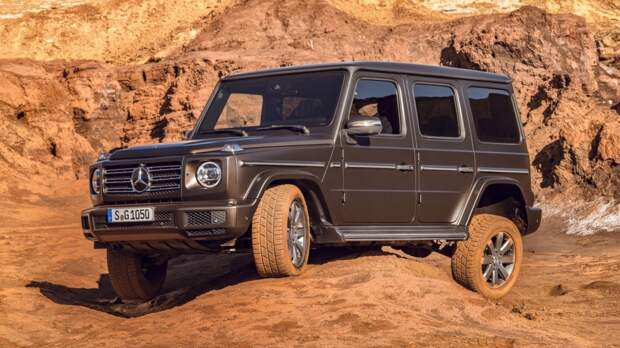 Mercedes-Benz G 500 Worldwide (Br.463) '2018–н.в.