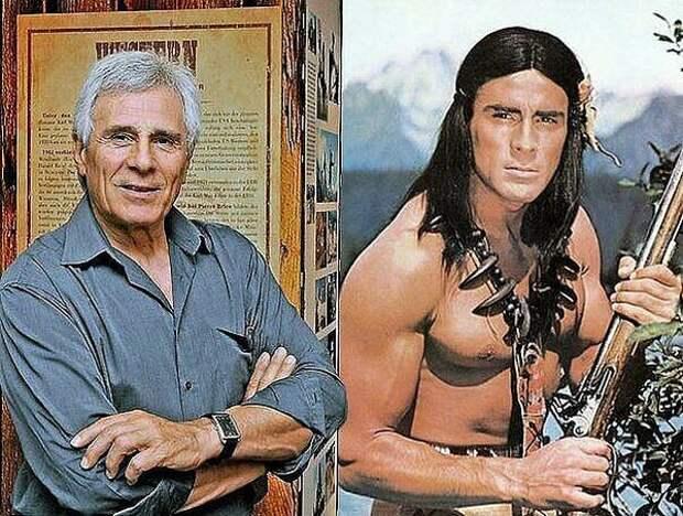 Гойко Митич продолжает играть индейцев в 78 лет.