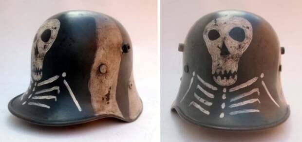 Почему немцы носили рогатые шлемы
