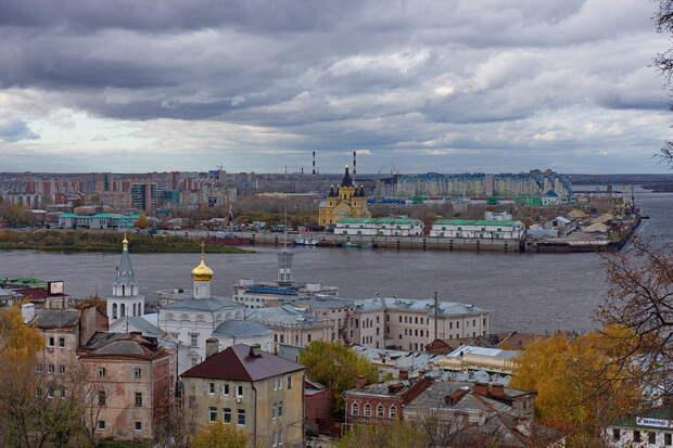 4. Нижний Новгород— 182 дня Города России, дождь, погода, статистика