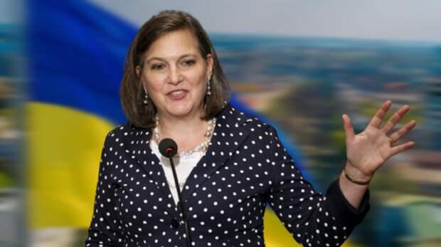 """""""Крестная мать"""" майдана Нуланд не оправдала надежд Киева позицией по Донбассу"""