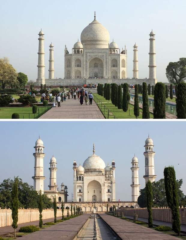 Ещё 10 двойников культовых мировых достопримечательностей, посещение которых обойдётся гораздо дешевле