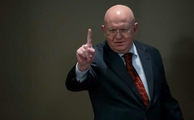 Небензя осадил высокомерных немцев неудобным вопросом германия, сирия, россия