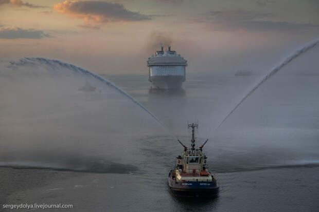 Первое плавание самого большого корабля