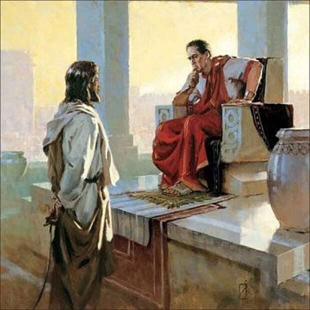 Образы римских «правителей» в апокрифах Нового Завета