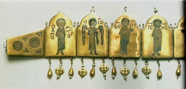 Диадема XII в. из Киевского клада