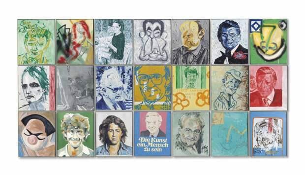 Послевоенное и современное искусство на аукционе Christie's