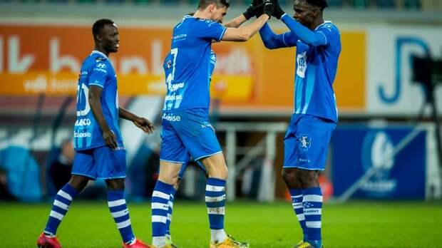 «Гент» разгромил «Волеренгу» в матче Лиги конференций