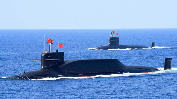 В Сети опубликовали первое фото новой атомной подлодки Китая