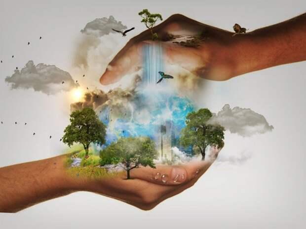 В «Перспективе» прошла экологическая акция «Украсим Землю цветами»