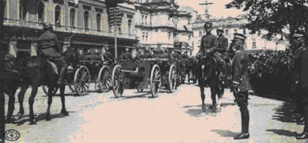 Польский парад в захваченном Киеве|Фото: