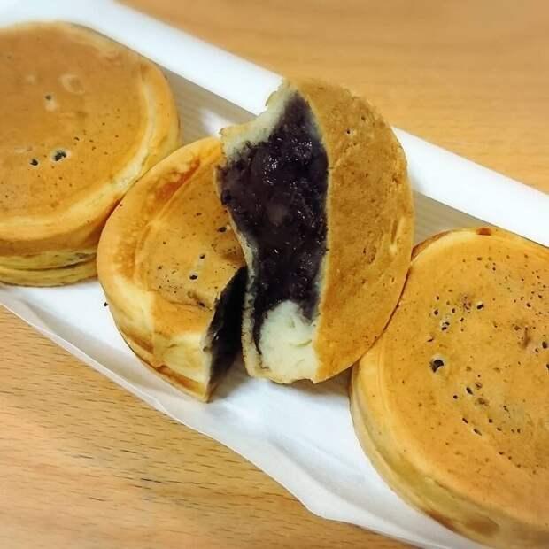 Imagawayaki (имагаваяки) вкусно, еда, необычные продукты, сладости, япония