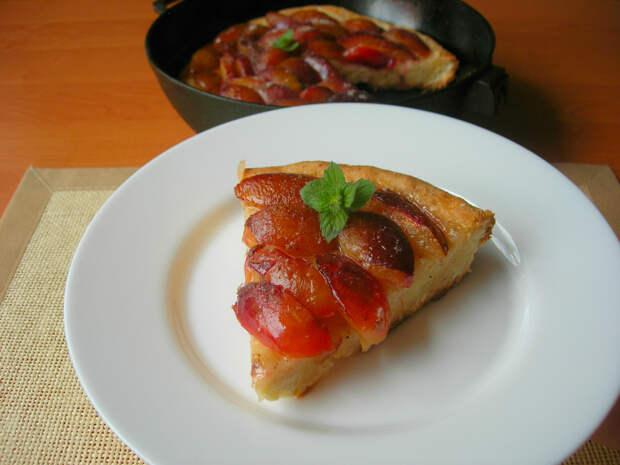 Приготовила и не жалею: классика немецкой кухни – Баварский сливовый пирог