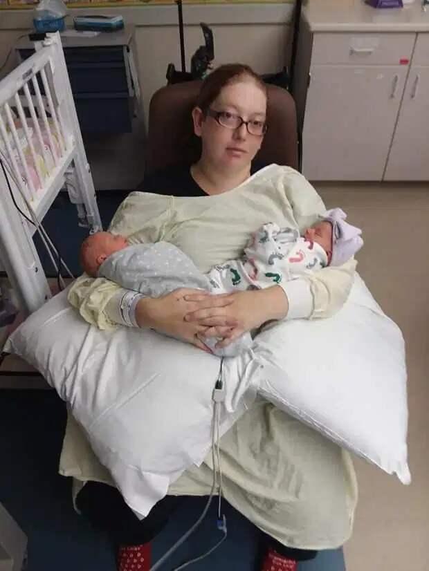 Неслучайная случайность: женщина родила тройню, неподозревая обеременности