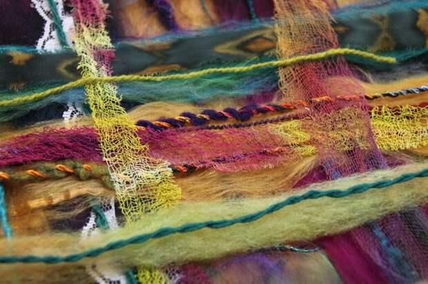Арт-текстиль: вторая жизнь для старой одежды