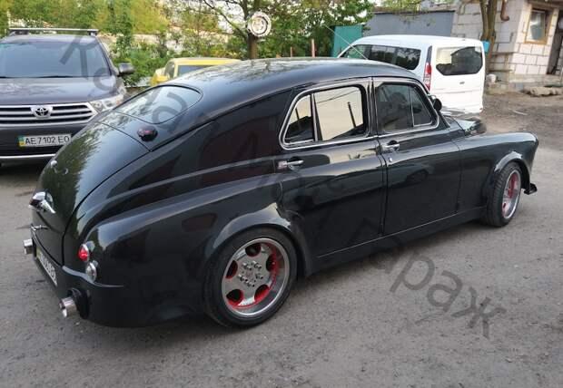Шикарный ГАЗ М-20 по кличке «Гризли».