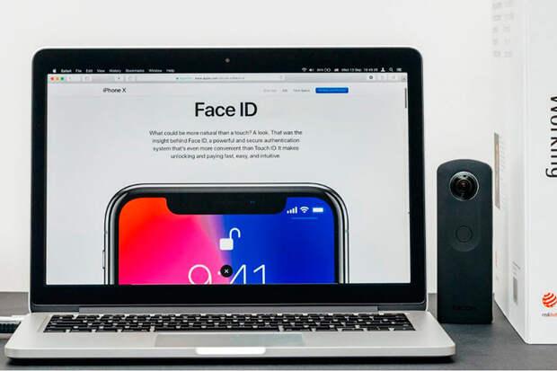 Компьютеры Mac должны получить Face ID