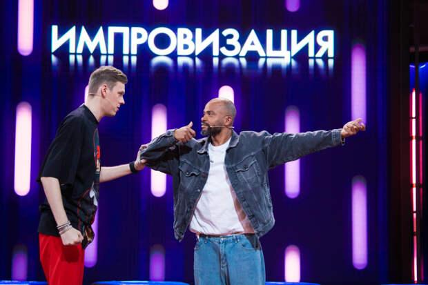 Мигель устроил танцевальный баттл на шоу «Импровизация»