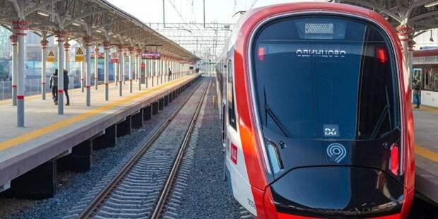 Поездами МЦД в Сочельник пассажиры воспользовались 15 тысяч раз