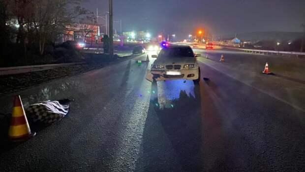 Водитель «БМВ» насмерть сбил пешехода в Симферополе