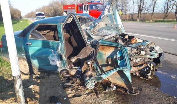 ВРостовской области озвучили подробности аварии спогибшей женщиной